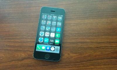 iOS 7.1.2 on iPhone 5s