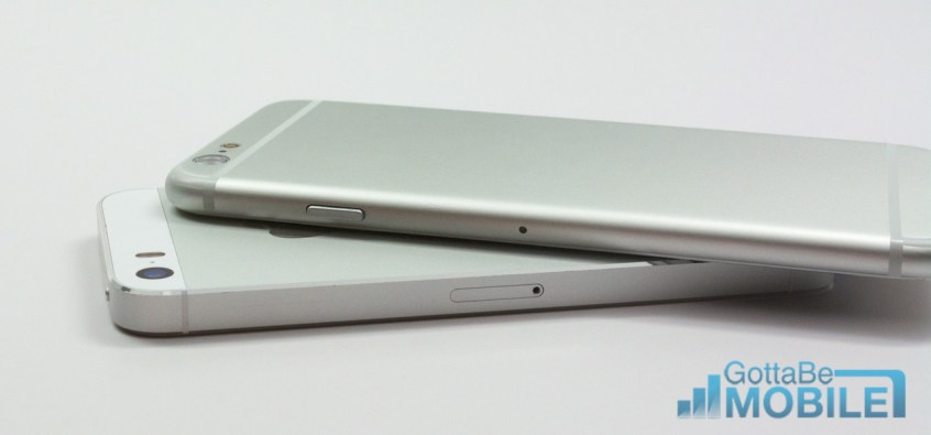 iPhone 5s vs iPhone 6 Video - Design Edges