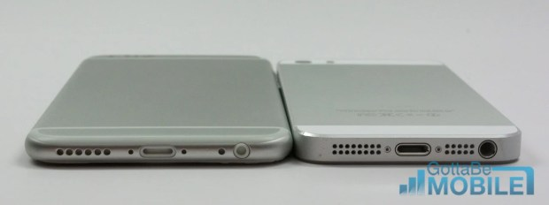 iPhone 5s vs iPhone 6 Video - Lightning