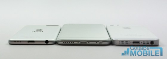 iPhone 5s vs iPhone 6 Video - vs iPod Touch