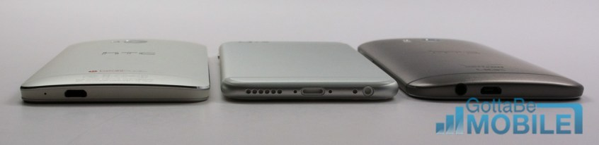 iPhone 6 vs HTC One - Charging