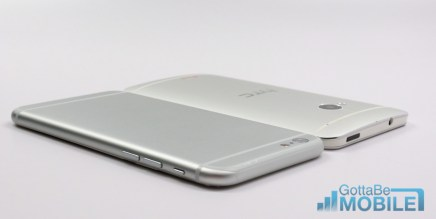 iPhone 6 vs HTC One - Design 2