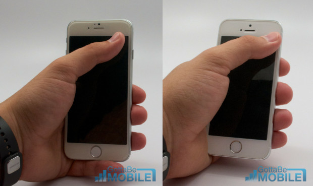 The iPhone 6 is still possible to use with one hand, based on size alone. We're waiting on the iPhone 6 release to confirm this though.
