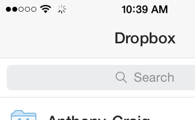 iOS 7.1 Loading Icon
