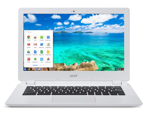 Acer Chromebook 13 with NVIDIA Tegra K1 Processor front view