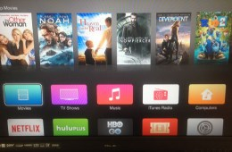 Apple TV iOS 7 Redesign