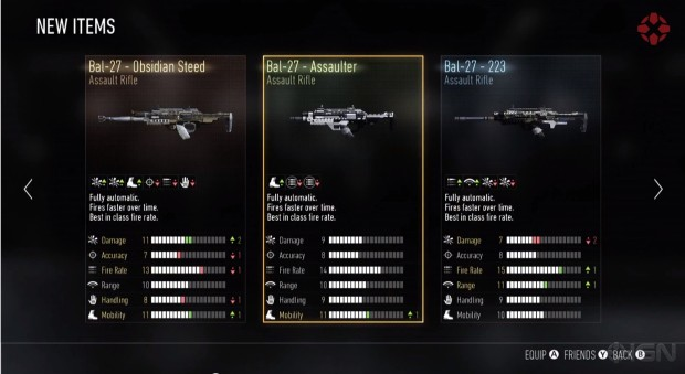 Weapons are one part of the Call of Duty: Advanced Warfare Supply Drop rewards.