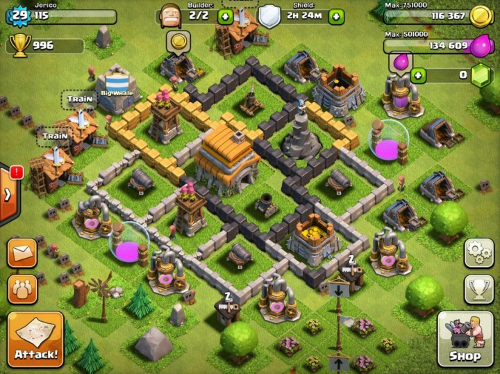 You may want to try a Clash of Clans hack to get more gems, but be careful.