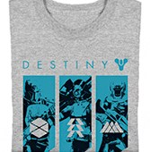 Free Destiny t-shirt.