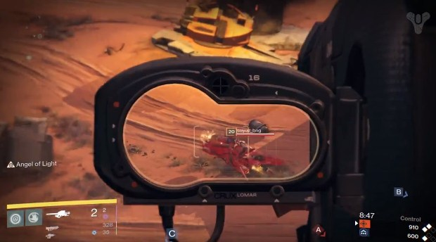 The Destiny Multiplayer video shows multiple ways to take out vehicles.