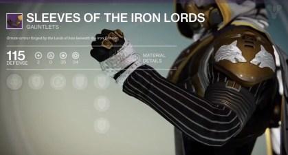 Destiny Mutliplayer - Iron Banner Rewards - 8