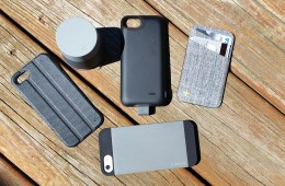 The Logitech Case+ system for iPhone 5 and iPhone 5s.