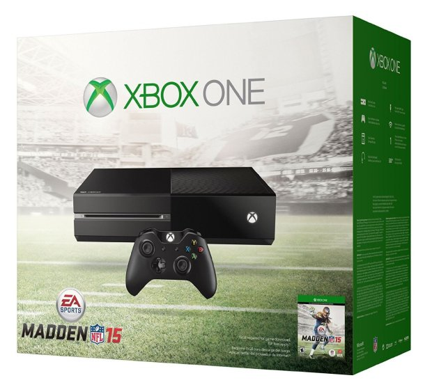 Score a free Madden 15 digital copy with the Xbox One Bundle.