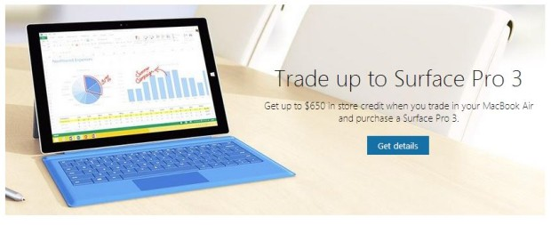 Surface Pro 3 Trade In deal