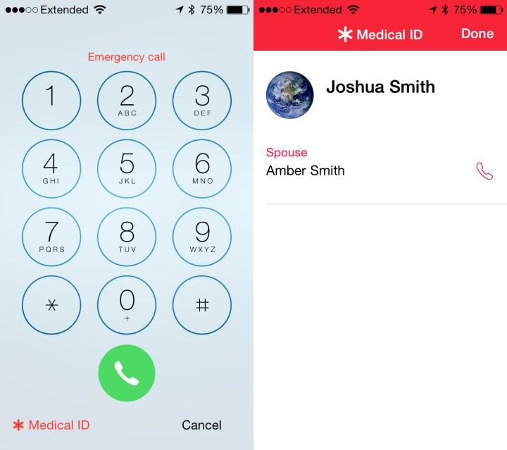 iOS 8 vs iOS 7 Lock Screen