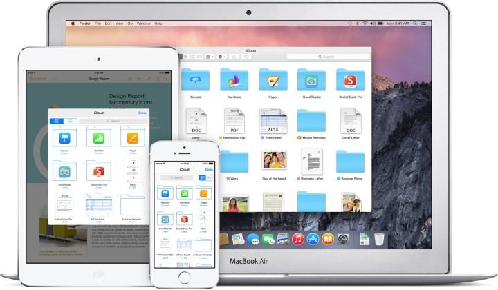 iOS 8 vs iOS 7 iCloud: Drive & Options