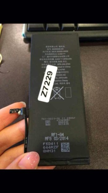This could be the large iPhone 6 battery for a 5.5-inch iPhone 6.