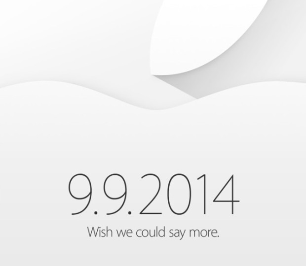 The iPhone 6 event is official, but now news yet on a live stream.