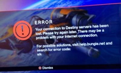Destiny Server problems frustrate on the Destiny release date.