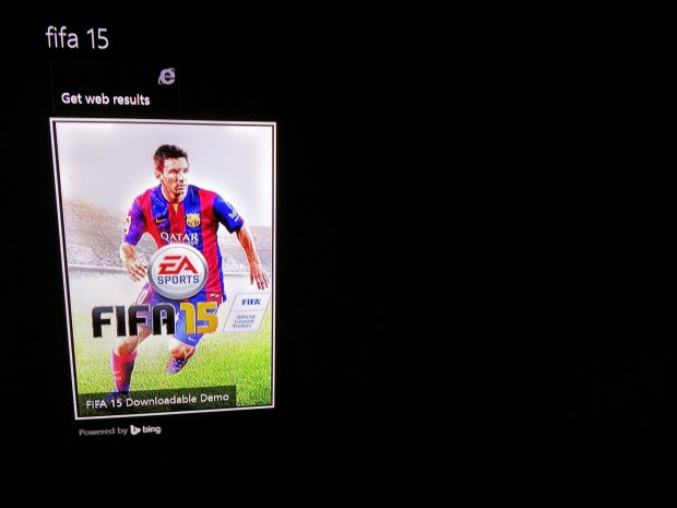Download the FIFA 15 demo to start playing.
