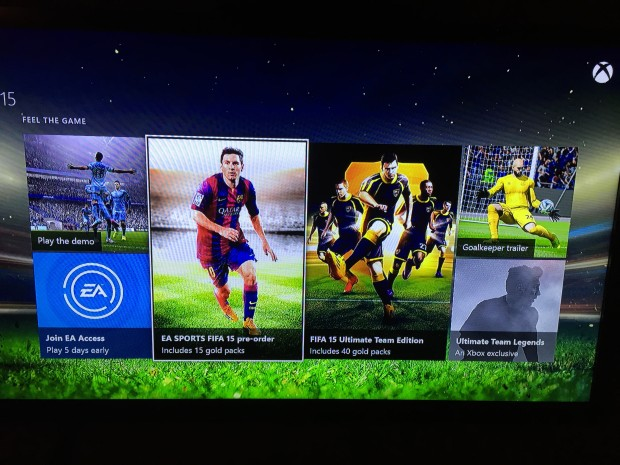 Choose the FIFA 15 pre-order.