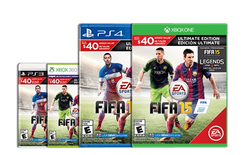 Pick the right version of FIFA 15 for your playing style.