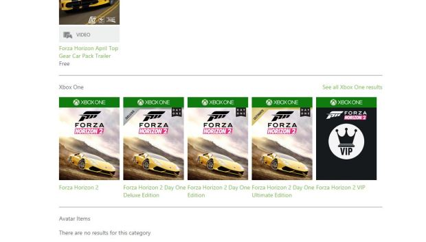 Forza Horizon 2 Versiosn Xbox One