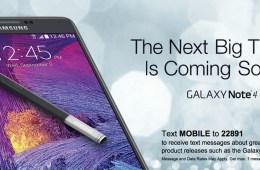 You can get your own Galaxy Note 4 hands on time before the release at select Best Buy stores.