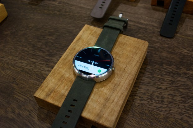 Moto 360 Hands On - 2