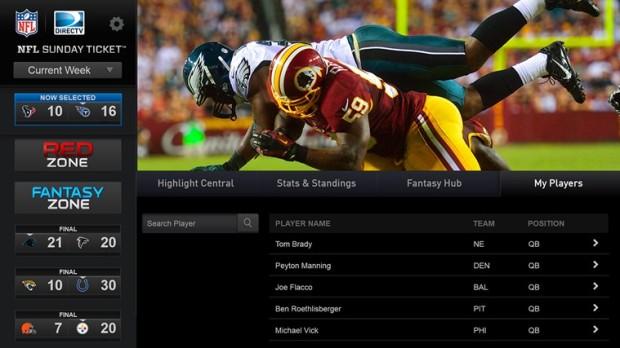 NFL Sunday Ticket Screenshot