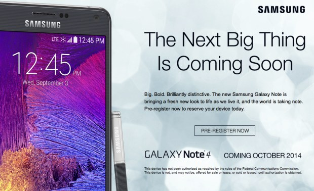 The Sprint Galaxy Note 4 release is MIA.