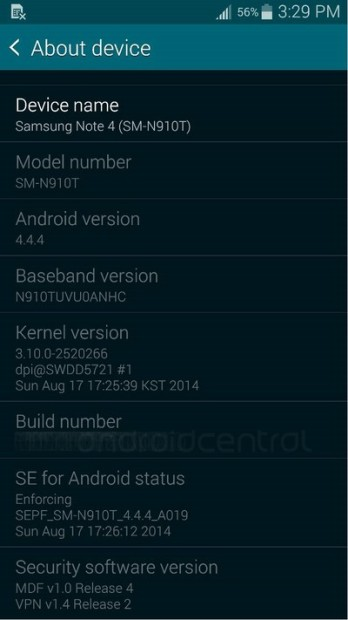 Note-4-software