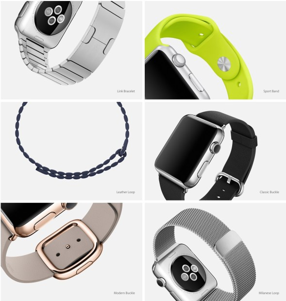 There are many Apple Watch bands.