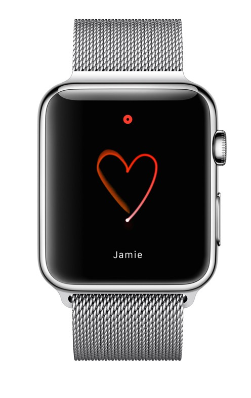 apple watch drawing feature