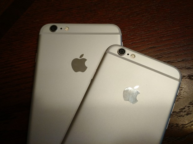 Check an Apple Store for the best chance at finding an iPhone 6 Plus in stock.