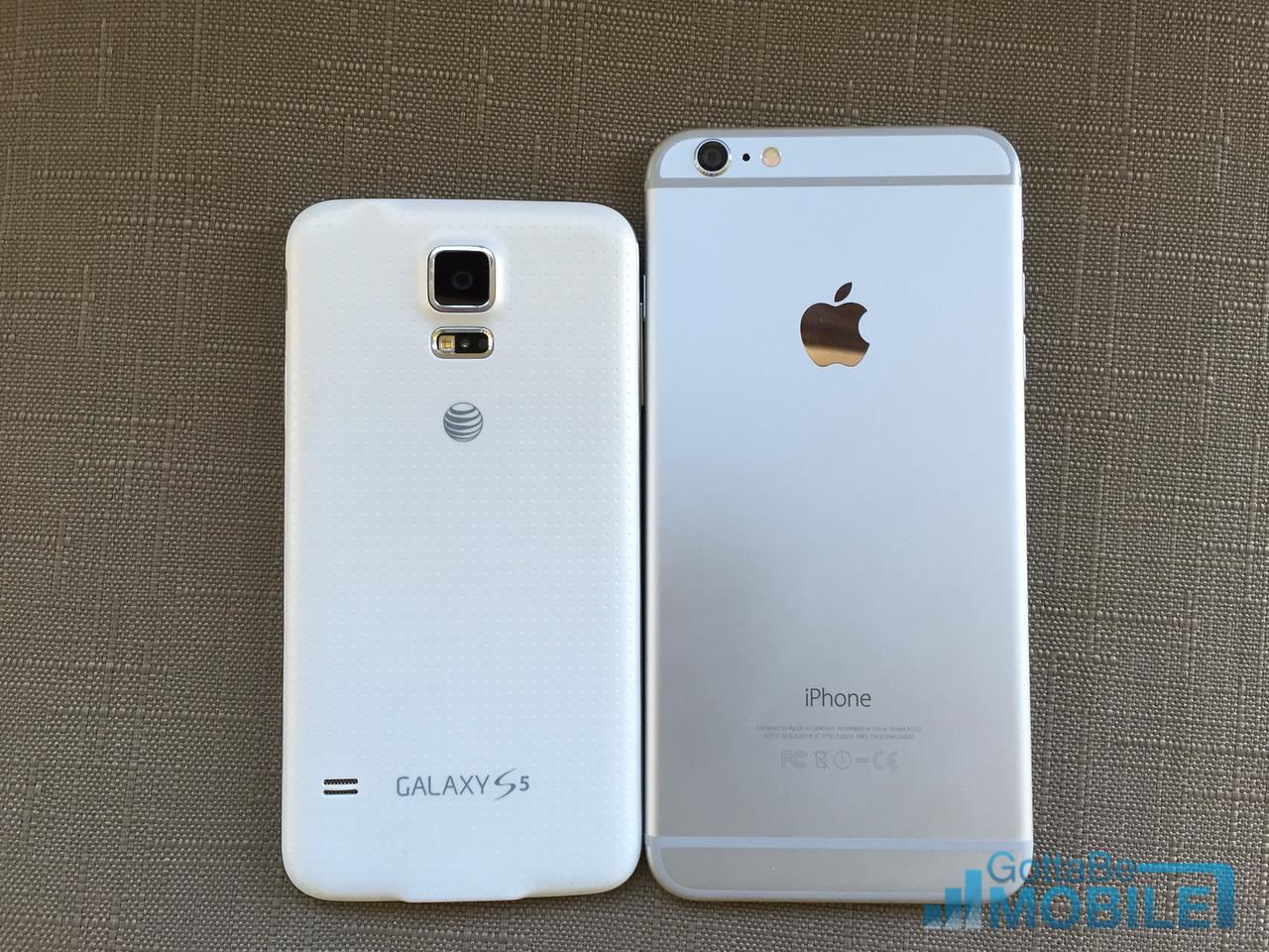samsung galaxy s5 iphone 6