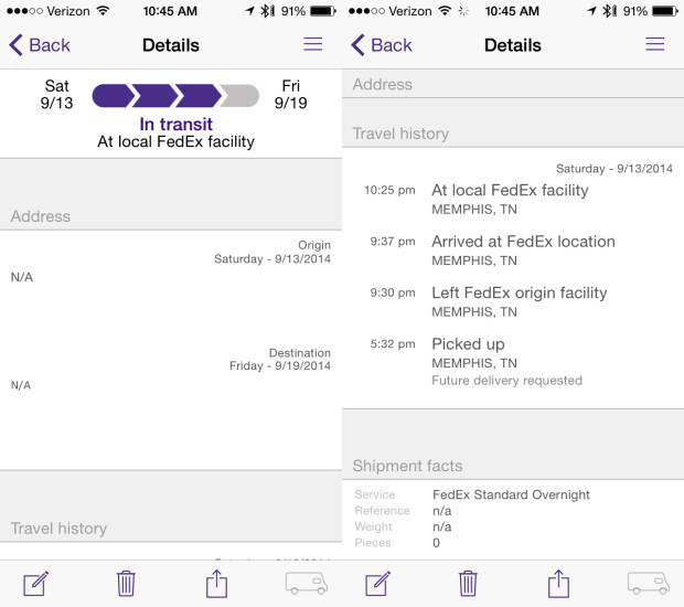 You can find your iPhone 6 tracking number to see where it is and when you'll get it.