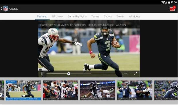 nfl mobile app on android live local games