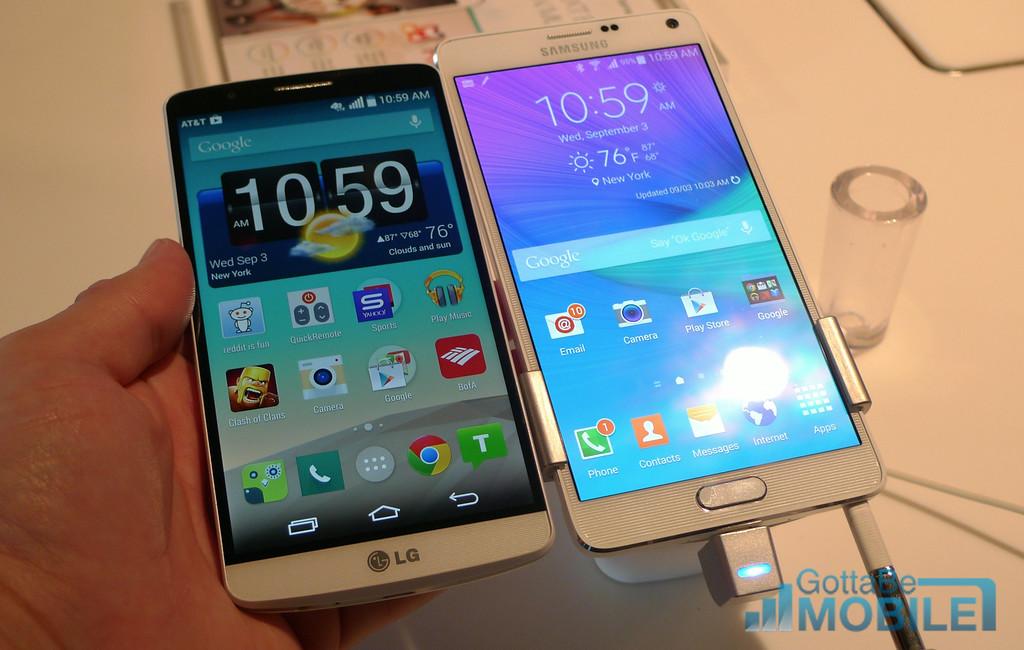 Samsung Galaxy Note 4 vs LG G3: 5 Key Differences