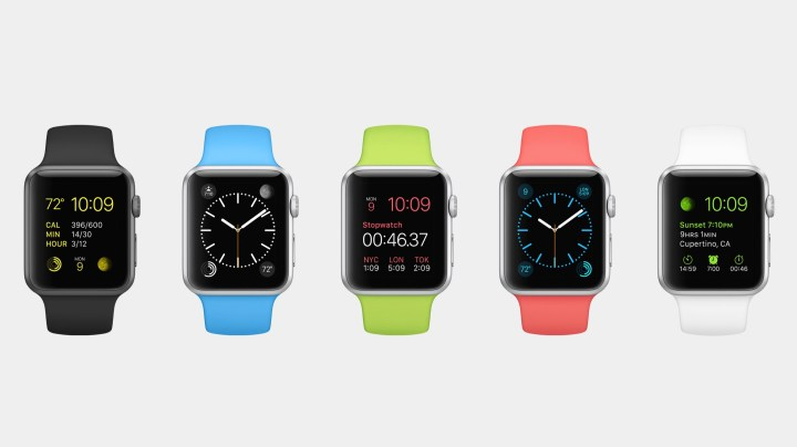 Apple Watch Sport prices don't change with band colors.
