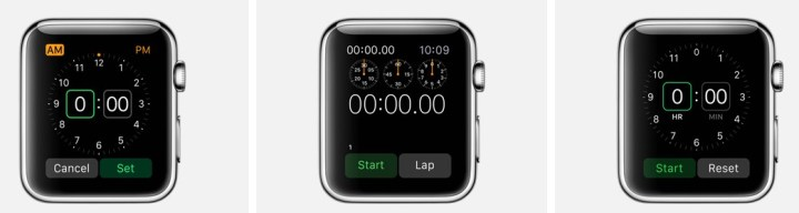 Use Apple Watch features that you can perform on almost any watch without the iPhone.