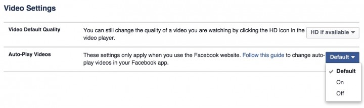 Take control of Facebook videos.