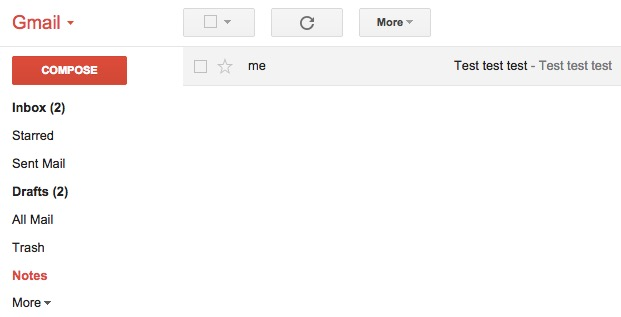 Gmail-notes
