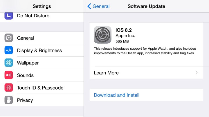 This is how you install the iOS 8.2 update on iPhone, iPad and iPod touch.