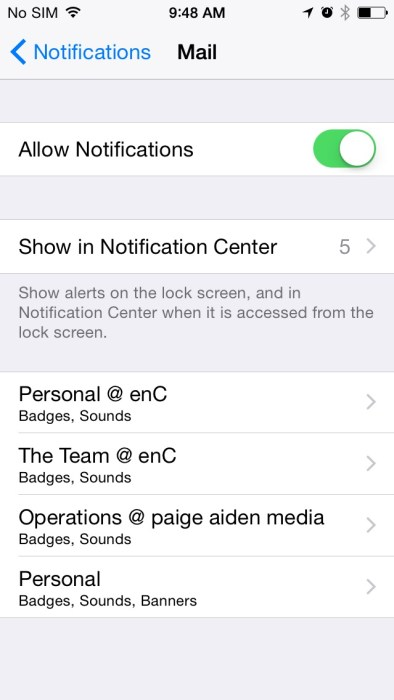 How to Stop Notification Badges on the iPhone  (6)