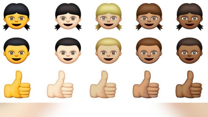 New iPhone emoji options in iOS 8.3. Source Apple.