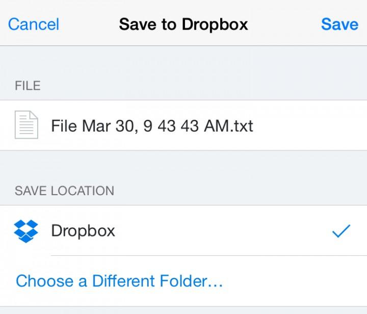 Notes-dropbox