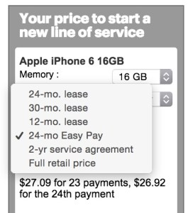 iPhone 6: Sprint Lease vs Sprint Easy Pay vs Contract Prices