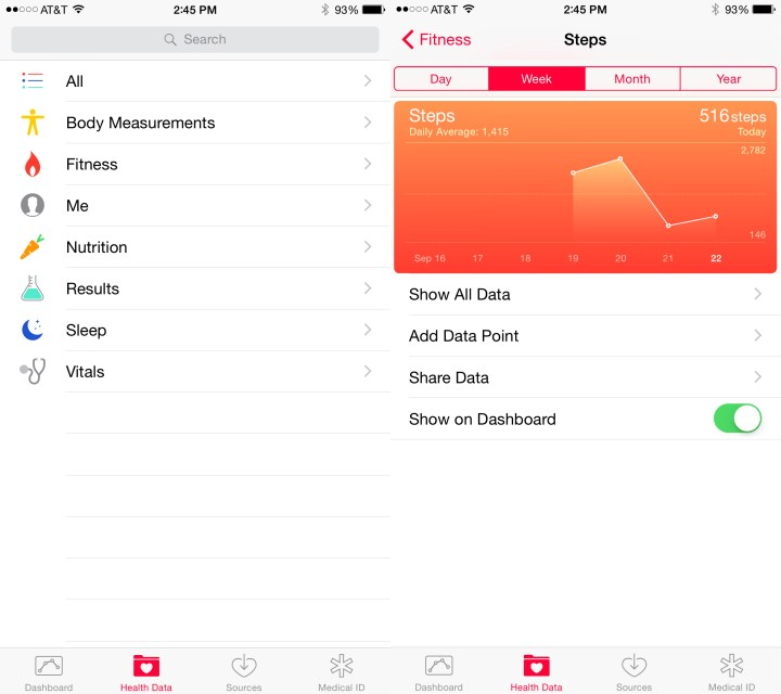 The iOS 8.2 health app delivers important fixes.