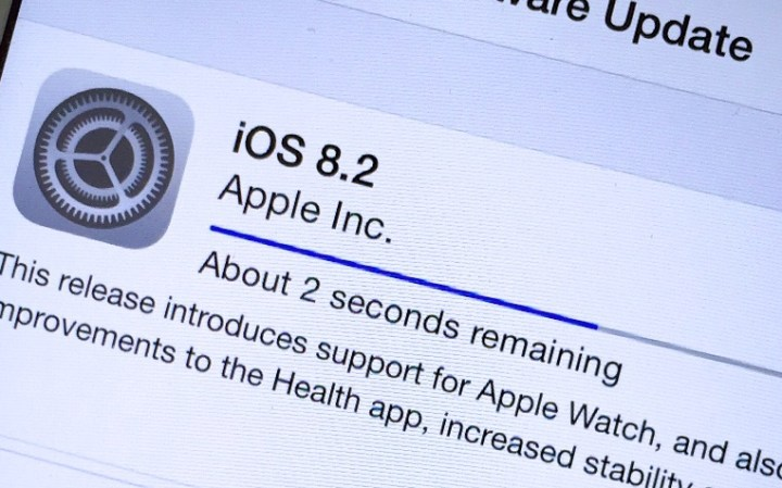 Here's how iOS 8.2 performs on the iPhone 4s.